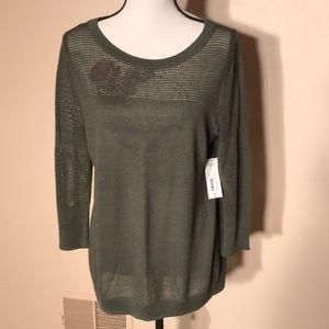 Thin sweater shirt